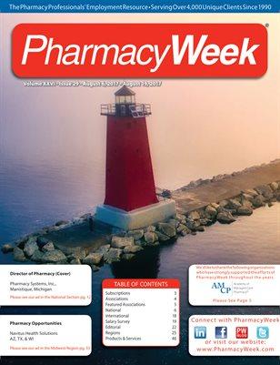 Pharmacy Week, Volume XXVI - Issue 29 - August 6, 2017 - August 19, 2017