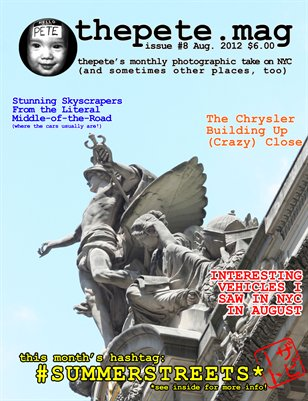 thepete.mag issue #8 August 2012