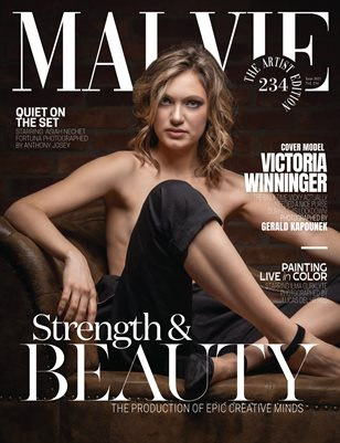 MALVIE Magazine The Artist Edition Vol 234 June 2021