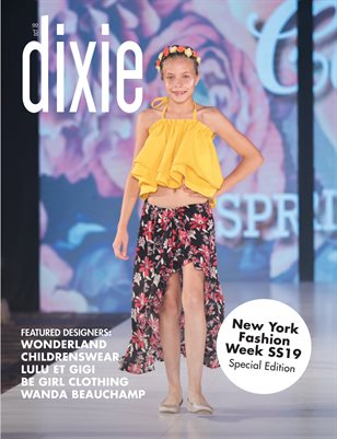 New York Fashion Week SS19 Special Issue - Dixie Magazine
