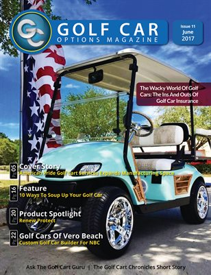 Golf Car Options Magazine - June 2017