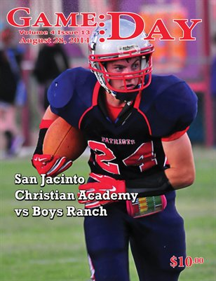 Volume 4 Issue 13 - SJCA vs Boys Ranch