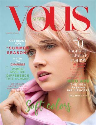 VOUS Magazine | The August Fashion & Beauty Edition | Vol.11 | 2021