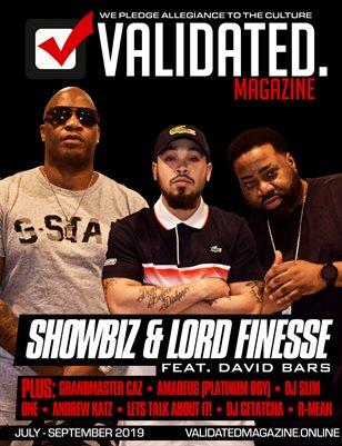 Validated Magazine ft. DITC Showbiz & Lord Finesse ft. David Bars