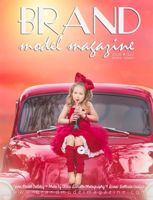 Brand Model Magazine  Issue # 322, Red/Pink Vol. 4