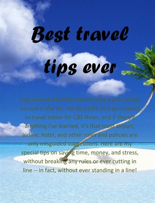 Best travel tips ever