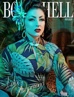 BOMBSHELL Magazine February 2020 BOOK 2 - Lola Diamond Cover