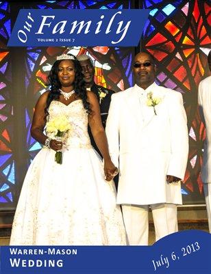 Volume 2 Issue 8 - Warren-Mason Wedding