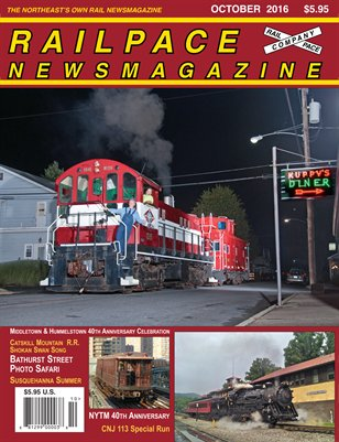 OCTOBER 2016 Railpace Newsmagazine