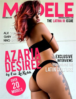 Model Modele Presents The Latina III Issue - Azaria