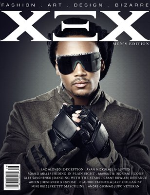 XEX Magazine: Men's Edition - Romeo Miller