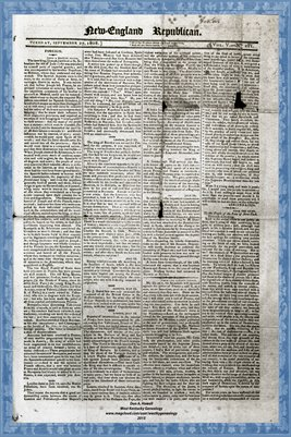 Pages1-2 Sept. 27, 1808 New England Republican