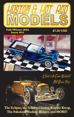 Kustom and Hot Rod Models - Fall/Winter 2012 #13