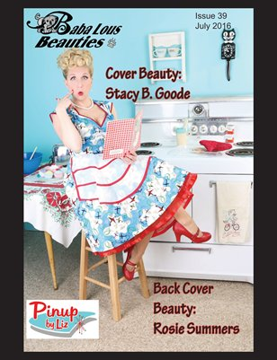 Baba Lous Beauties-Anthing Pin Up Issue 39: July 2016