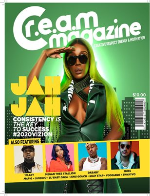 C.R.E.A.M. Magazine 11th Edition featuring JAH JAH
