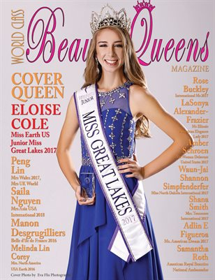 World Class Beauty Queens Magazine with Eloise Cole, Issue 47
