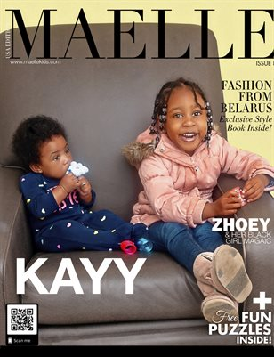 Maelle Kids Magazine #8 | Baby Kayy