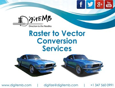Raster to Vector Conversion Services1