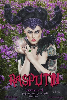 Rasputin Magazine Feature Issue #3 Poster