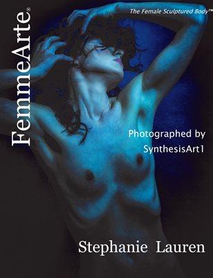 FemmeArte® Magazine September 2019 Issue #9 Cover Model, Stephanie Lauren
