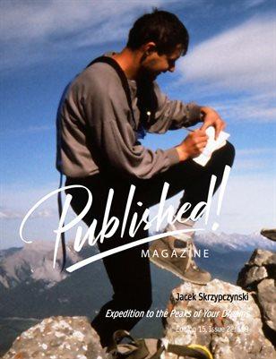 PUBLISHED! #15 Excerpt featuring Jacek Skrzypczynski!