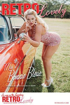 Miss Bonnie Bleue Cover Poster
