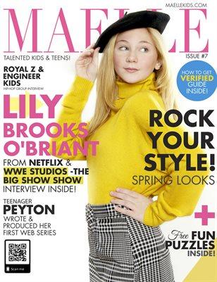 Maelle Kids Magazine #7 Lily Brooks O'Briant