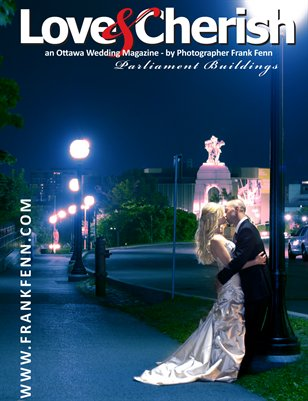 Some examples of wedding portraits made around Parliament Hill in Ottawa