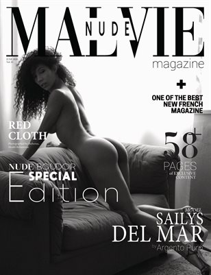 MALVIE Mag | Nude & Boudoir Special Edition | Vol. 05 JUNE 2020