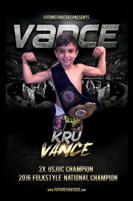 Kru Vance Arena Poster