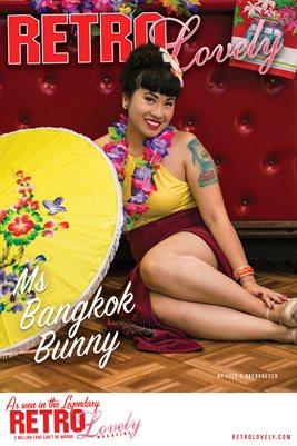 Ms Bangkok Bunny Cover Poster