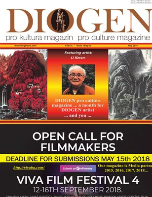 DIOGEN pro culture magazine No 86, May 2018