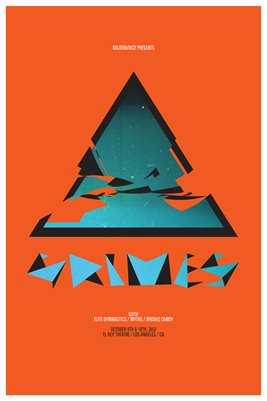 Grimes - Gig Poster (2012)