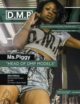D.M.P Mag Artist & Model issue Vol. 1_ 2017