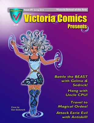 Victoria Comics Presents Issue 1