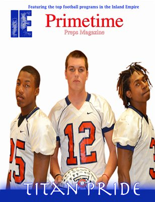 Inland Empire Prime Time Preps Magazine Colony Football Edition April 2012