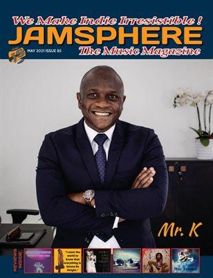 Jamsphere Indie Music Magazine May 2021