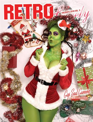 Retro Lovely Holidays Edition 2018 - Vol 5. Gigi Saul Guerrero Cover
