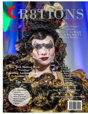 Cr8tions Magazine Lisa Yamasaki April/ May