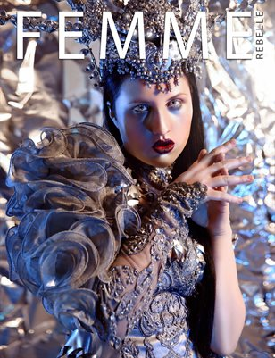 Femme Rebelle Magazine FEBRUARY 2018 - BOOK 1 - Ambellina Cover