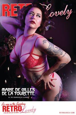 Marie De Gilles De La Tourette Cover Poster