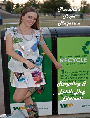 Pandora's Hope Recycling & Earth Day Issue