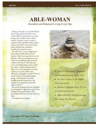 Able-Woman Magazine