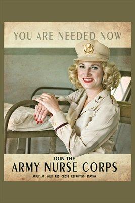Army Nurse Corp Poster