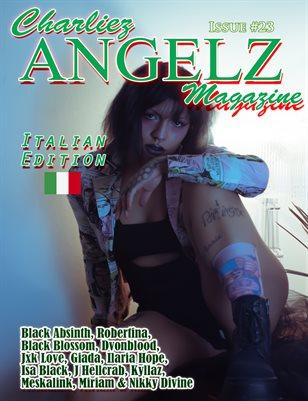 Charliez Angelz Issue #23- Italian Edition - J Hell Crab