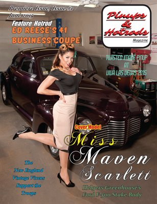 Premiere Issue-Pinups & Hotrods