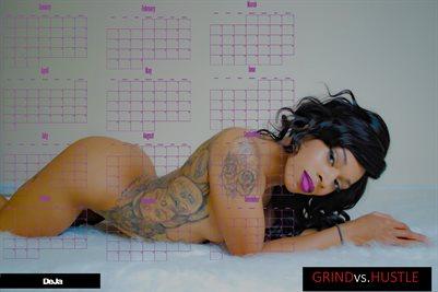 Deja wide tattoo poster