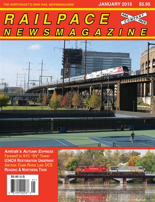 January 2015 Railpace Newsmagazine
