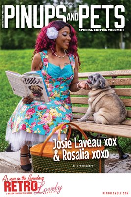 Pinups & Pets Vol. 6 – Josie Laveau xox Cover Poster