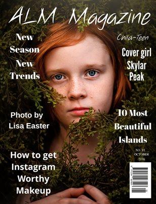 """ALM Child-Teen Magazine, Issue 91, """" September It Girl, October 2018"""